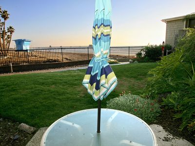 Photo for Ocean/Pier View Ground Level Cottage, Remodeled, Steps to the Gate and Sand D11 - Beachfront Luxury