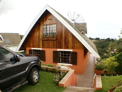 Photo for Pleasant Family Chalet - with nice view, garden and track p / walks.