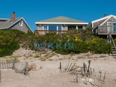 Photo for Beachfront Cottage, Spectacular Views, Stretch of Private Beach
