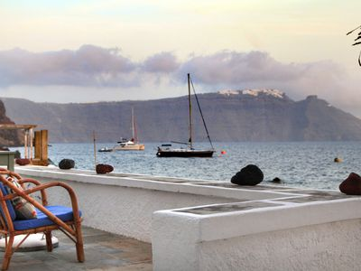 Photo for Armeni Seaside Villa - Caldera View