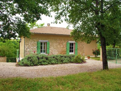 Photo for Beautiful holiday home in former railway cottage with large garden in Southern France