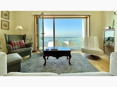 Photo for 3 bedroom luxury duplex by the sea