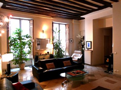 Photo for SUPERB APPART of 140 m2 THE MARAIS -HOTEL DE VILLE - 6 people