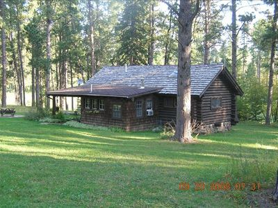 Photo for Little Elk Cabin (CCC Built) in  Vanocker Canyon Near Nemo in the Black Hills!
