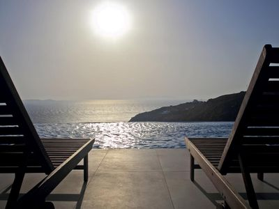 Photo for Villa Ariani Tourlos Mykonos 4 bedrooms 4 bathrooms, private pool, up to 10 guests !