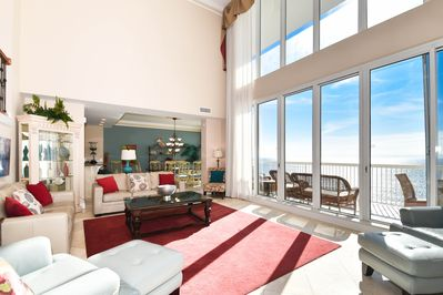 1 Silver Beach Towers West Penthouse 1704- Living Area