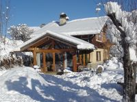 A chalet with amazing character, beautiful views, beautiful rooms with real charm and warmth.