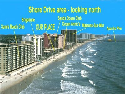 Photo for Apatb3 -Shore Drive -on Ocean -Ocean View -2+BR/2BA -Free Wifi