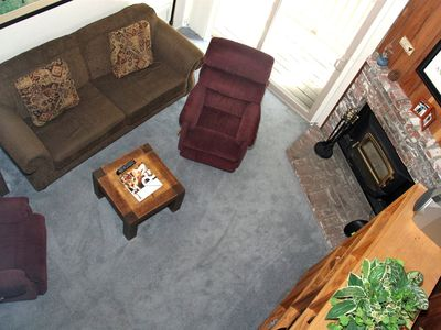 Photo for 1 Bedroom & Loft, 2 Full Bathrooms, Sleeps 6, Two Level Condo to enjoy for your Mammoth Lakes Vacati