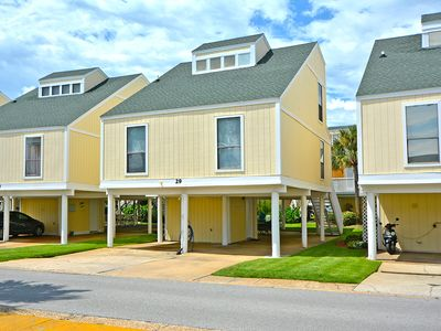 Photo for 3 bedroom, 2 bath Town home condo #29 is a short stroll to our private beach!