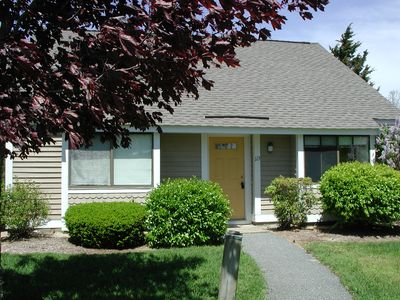 Photo for Renovated Patio Home!  Idyllic setting! Chic and comfortable! Near Rt 6A.