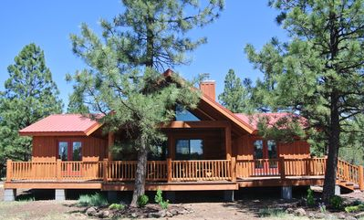 Photo for Beautiful New Cabin on Private Ranch in Lakeside/Pinetop