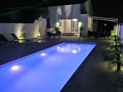 Photo for A Luxurious Modern Villa, Amazing Private Pool & Large Garden.Special Rates 2019