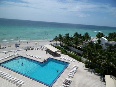 Photo for GREAT OCEAN FRONT 1br-1 1/2 bath Condo For Rent (HOLLYWOOD BEACH)