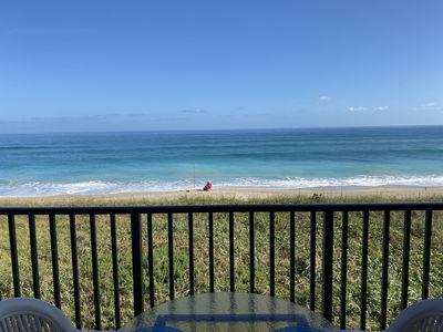 Photo for Ocean Front Condo on Hutchinson Island with Fantastic Beach Views and Access