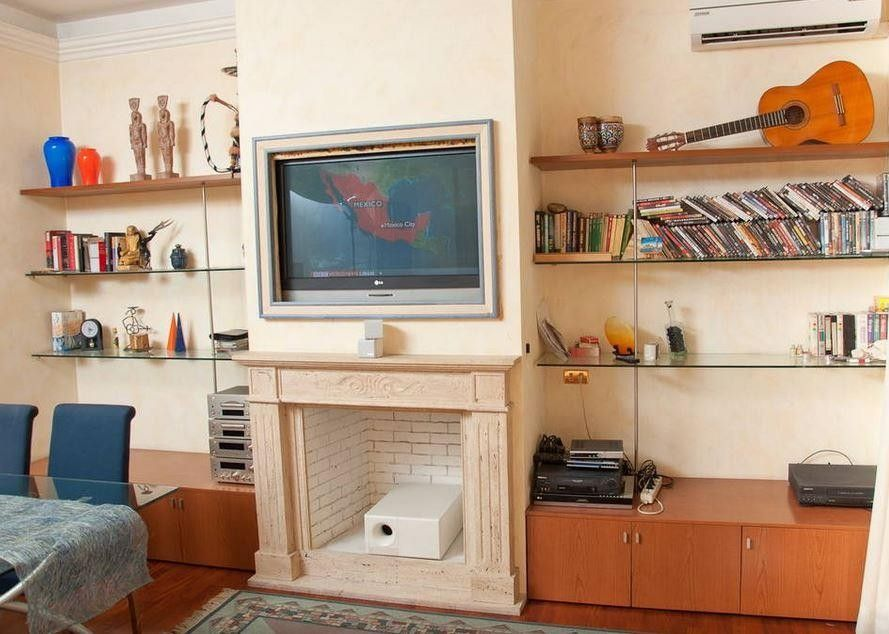 Studio apartment in rome with air conditioning washing for Studio apartments in rome