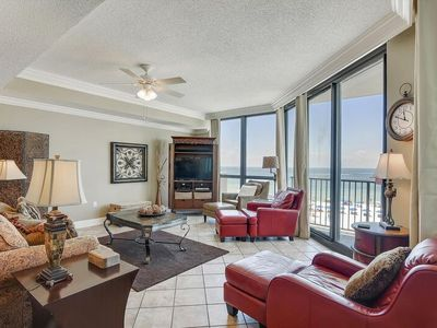 Photo for Spacious Luxury Beachfront Condo | Amazing Views of Ocean | My Beach Getaways