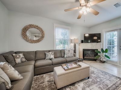 Photo for SOUTH OF 30A, 2 BACKPACK BEACH CHAIRS, GULF FRONT COMMUNITY POOL