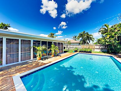 Photo for New Listing! Contemporary Beach Haven w/ Cabana, New Pool & Kitchen