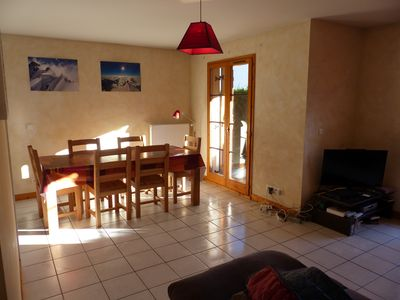 Photo for Spacious 75 M2 3 Bed Apt In excellent quiet location With WIFI