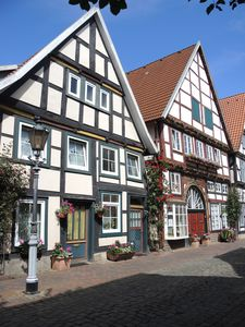 Photo for Hist. Half-timbered house from 1571, despite center quiet living, animals allowed