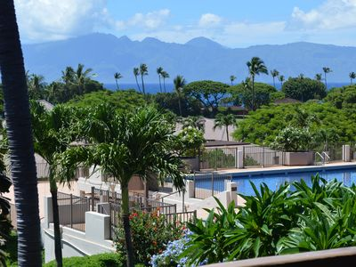 Photo for Maui Eldorado F202- Ocean views from the Bedroom, Living room and Kitchen!