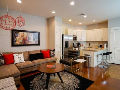 Photo for Modern Midtown Condo Minutes to Broadway Phillips Place Unit #2