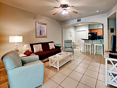 Photo for 1BR + Bonus Room One Club Condo w/ Clubhouse Access – Adjacent to Golf Course
