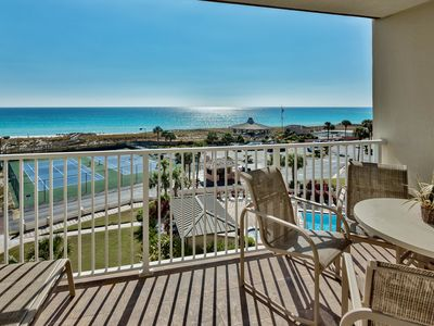 Photo for Unit 503 - Beautiful Gulf View w/ FREE beach service. Platinum renting @ Gold