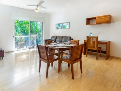 Photo for Beautiful one bedroom condo 2 blocks away from the beach