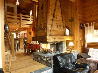 Photo for 4-star chalet for 8 people view of Mont Blanc - 5 room flat 8 people