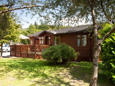 Photo for Log Cabin On Shores Of Lake Windermere Surrounded By Breathtaking Scenery