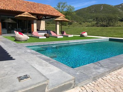Photo for house T4 inserted with pool and barbecue on Thursday in the Serra da Arrabida