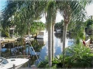 Beautiful Deep Water Canal View From Second Floor Sun Deck