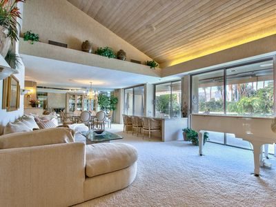 Photo for 5-Star Luxury Rancho Mirage Retreat! Stunning Decor, Views and Comfort