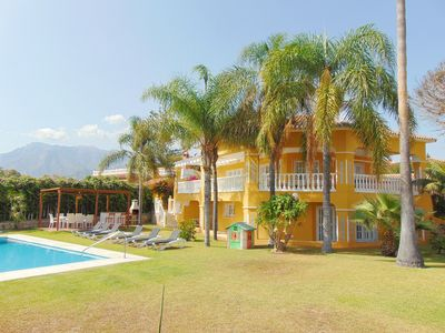 Photo for Lovely andalusian villa in Marbella 5 min walk to the beach with free WIFI.
