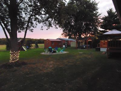 Photo for Private ranch home with hot tub, playset, fire pit, and a nice lighted deck