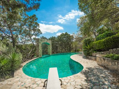Photo for 6000sf PRIVATE ESTATE w/ POOL-- Close to Everything--A Hill Country Retreat