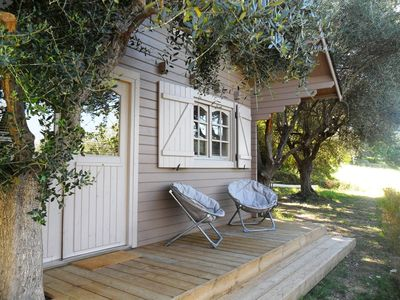 "Photo for ""Cote d'Azur: Charming chalet countryside between Cannes Grasse Nice Monaco"