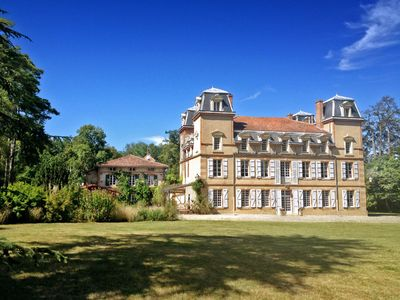 Photo for 9 bedroom Chateau, sleeps 18 with Pool and FREE WiFi