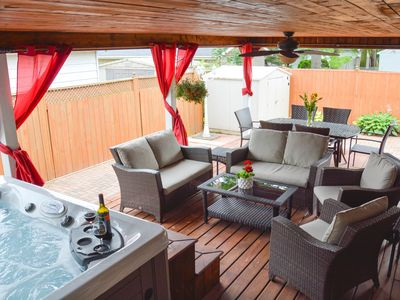 Photo for Niagara Urban Oasis with Hot Tub 40% discount for weekly rentals