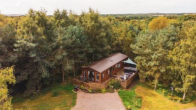 Photo for Stag Lodge, Felmoor Holiday Park (Hot Tub Lodge)