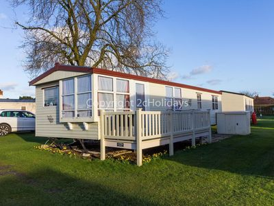 Photo for 6 berth caravan near Skegness at Sunnydale Holiday Park ref 35011SD
