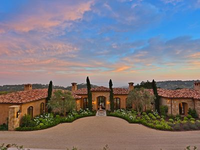 Villa Bella - Umbrian Inspired Coastal Estate in Montecito