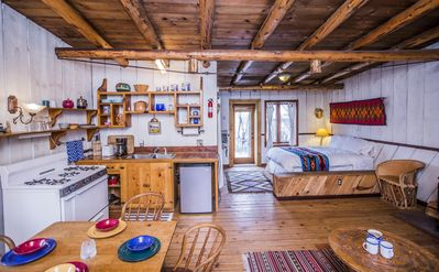 Photo for Aldous Huxley Cabin - Studio Apartment, Sleeps 4