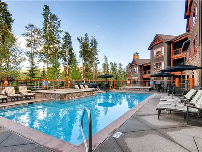 Photo for Enjoy a Beautiful Summer Getaway in this Luxury Condo, Outdoor Pool & Hot Tubs On-Site