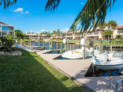 Photo for Amazing GULF ACCESS #C 2-bedroom w/ Heated pool and Boat Slip!