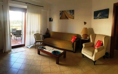 Photo for Cozy apartment in Palau 5min walk to the beach.