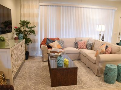 Photo for MIN TO PARKS! Gorgeous 4BDR Townhome w/Splash Pool, in Windsor at Westside Resort Community