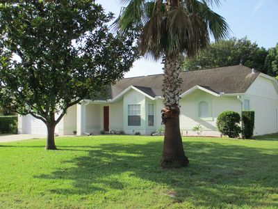 Photo for 3/3 Home with Private Solar Heated Pool, 15 Minutes from Disney Theme Parks